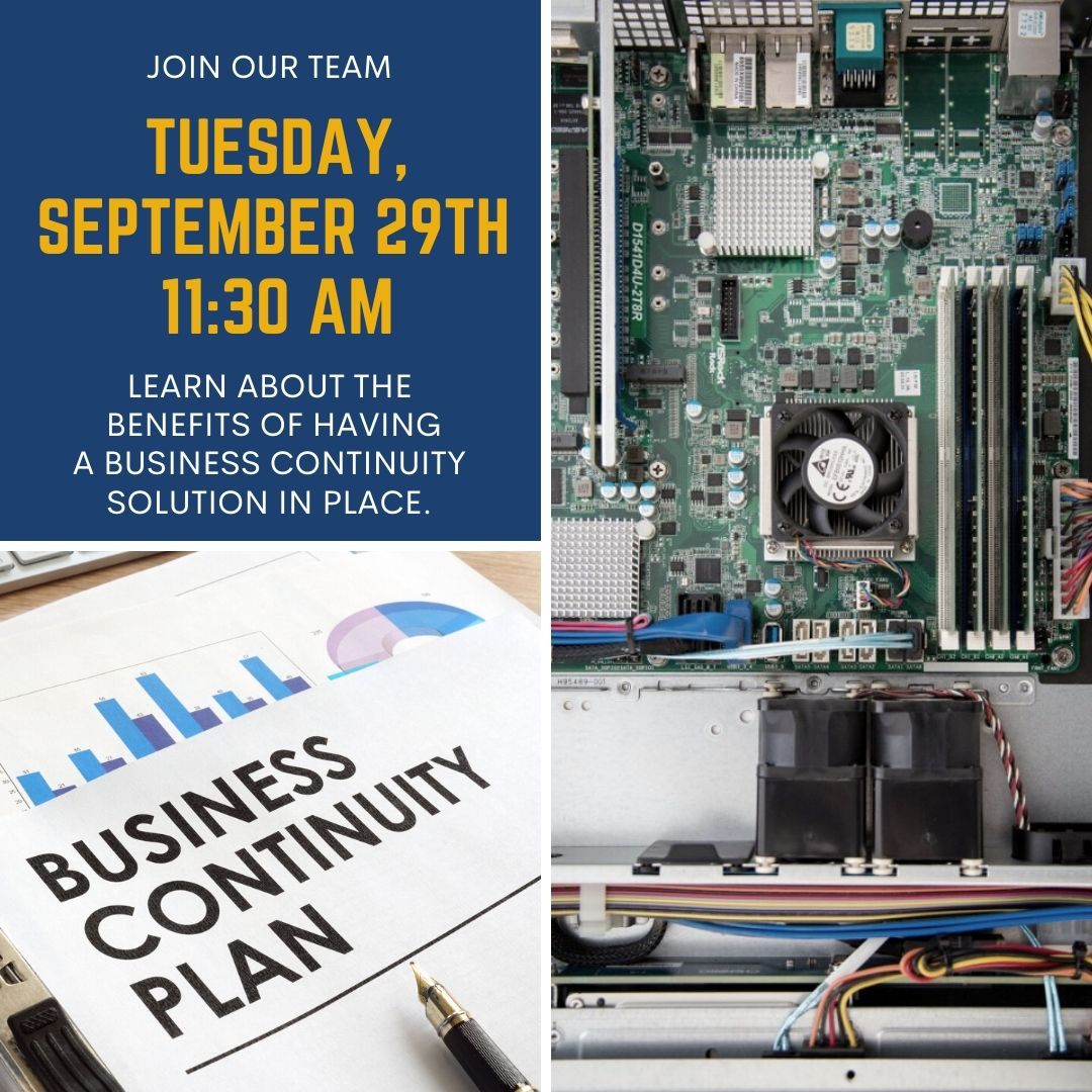 benefits Business continuity solution